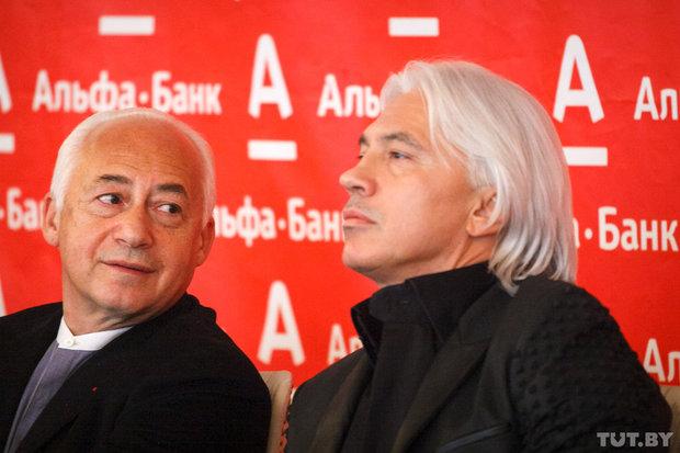Владимир Спиваков и Дмитрий Хворостовский