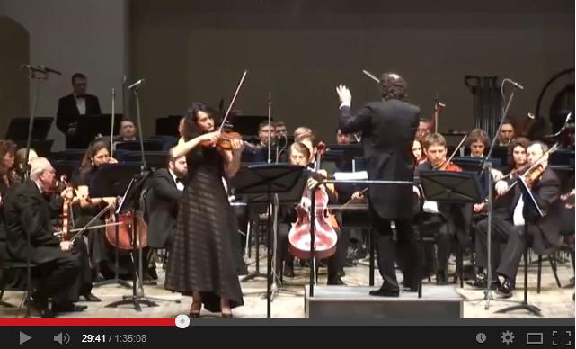 Национальный филармонический оркестр России, Алена Баева (скрипка) и Отто Тауск