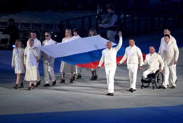 Владимир Спиваков на открытии Паралимпийских игр в Сочи