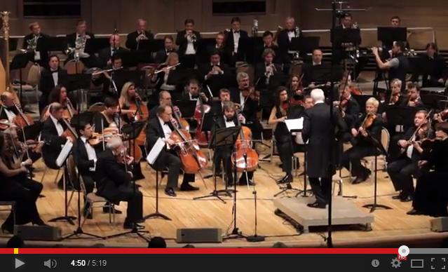 Увертюра к опере Моцарта Милосердие Тита в исполнении Владимира Спивакова и НФОР