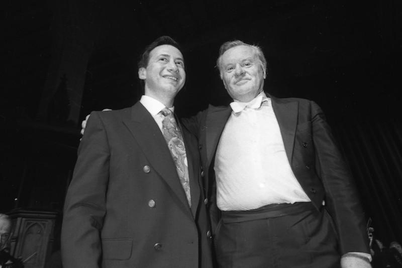 Владимир Спиваков и Евгений Светланов