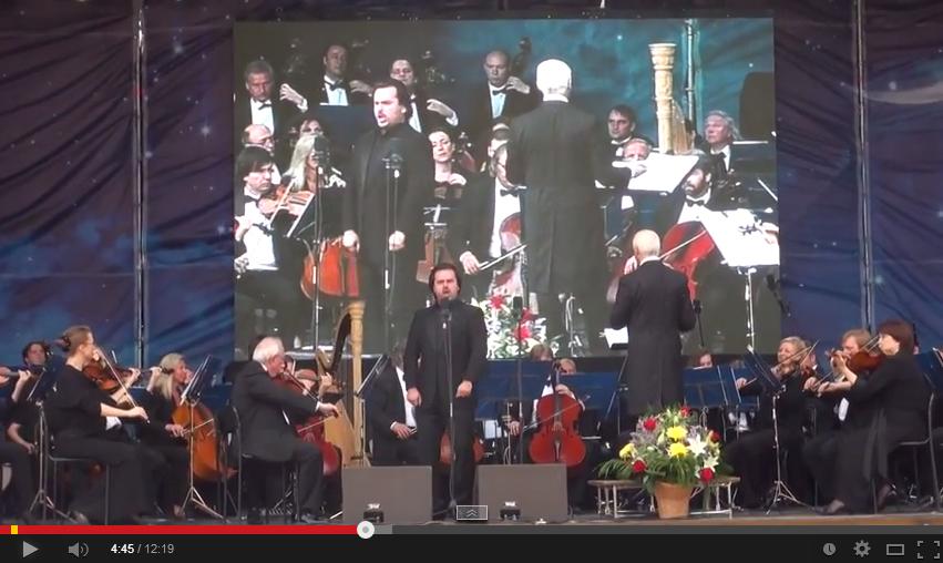 Гала-концерт фестиваля Владимира Спивакова в Перми 2014